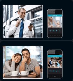 collegamento remoto smartphone